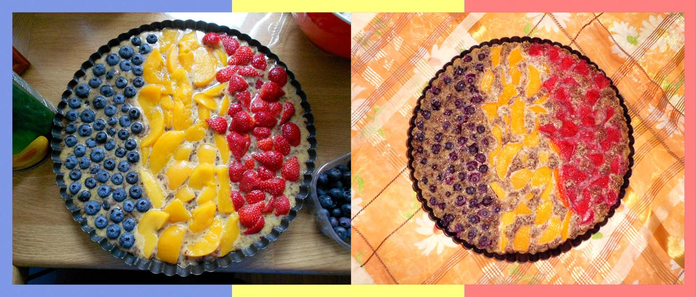 Birthday cake 'Romania'