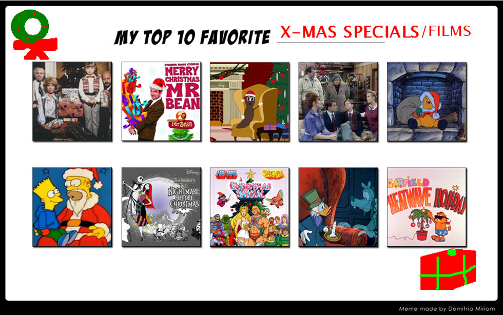 Top 10 Christmas Specials By Tabascofanatikerin On Deviantart