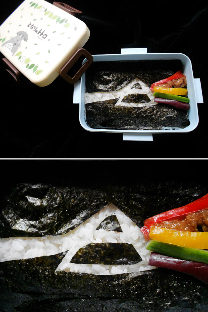 Dark Side of the Moon Bento by Tabascofanatikerin