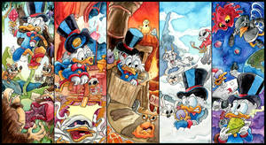 Ducktales Remastered - Water Colours by Tabascofanatikerin