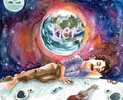 Her - A million Miles away by Tabascofanatikerin