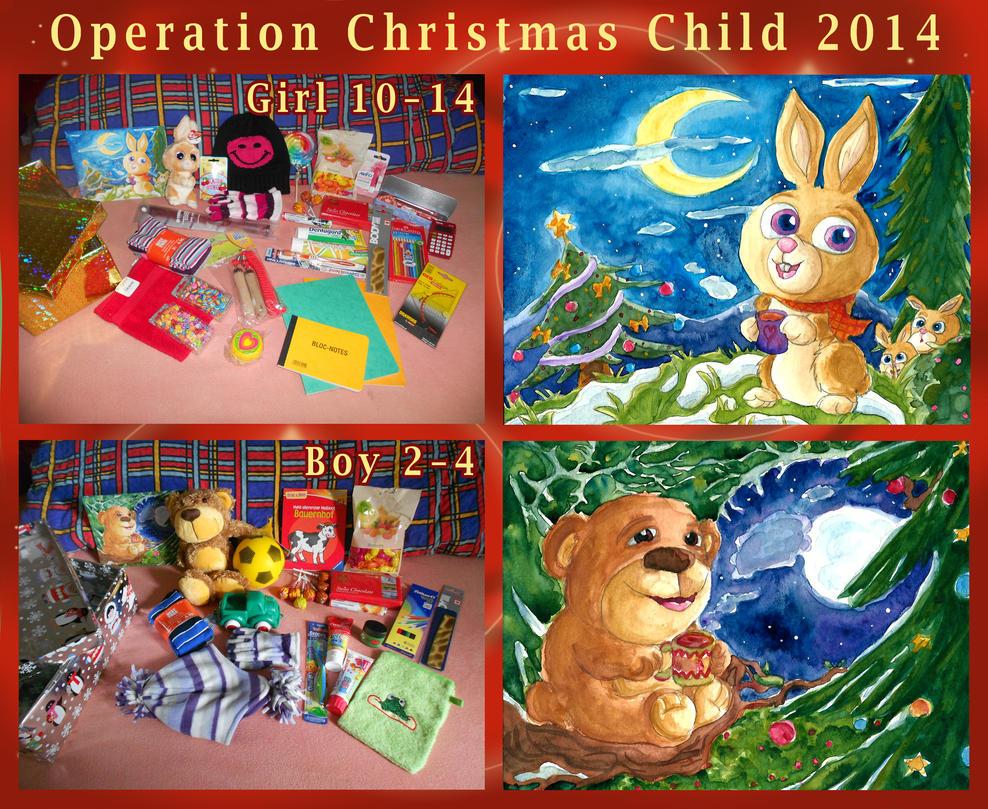 Operation Christmas Child 2014 by Tabascofanatikerin