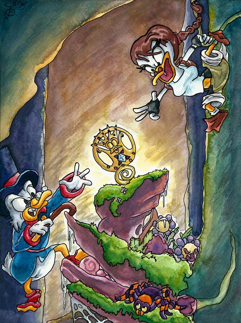 Treasure Hunters and Tomb Raiders (Contest Entry) by Tabascofanatikerin