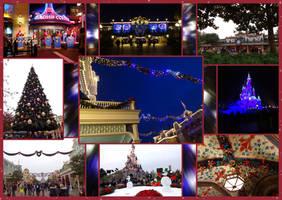 Disneyland Paris - Christmas, Christmas everywhere by Tabascofanatikerin