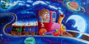 Der kleine Sternenlieferant by Tabascofanatikerin