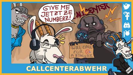 Telefonziege 'Ganzes Callcenter verarscht' by Tabascofanatikerin