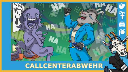 Telefonziege 'Lachflash beim WWF' by Tabascofanatikerin
