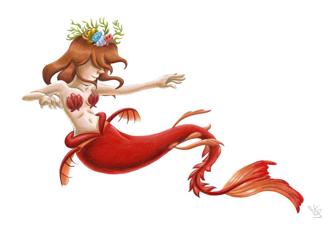 Mermay 2018 - Myself as a Mermaid by Tabascofanatikerin