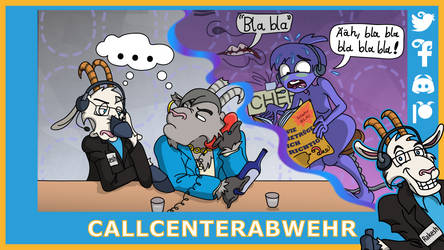 TZ 'Die Leiden eines Callcenterneulings 2' by Tabascofanatikerin