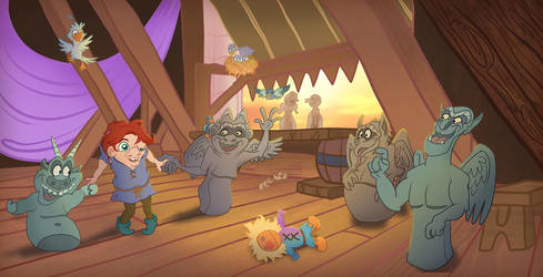 All Aged Down Contest - Dance, little Quasimodo