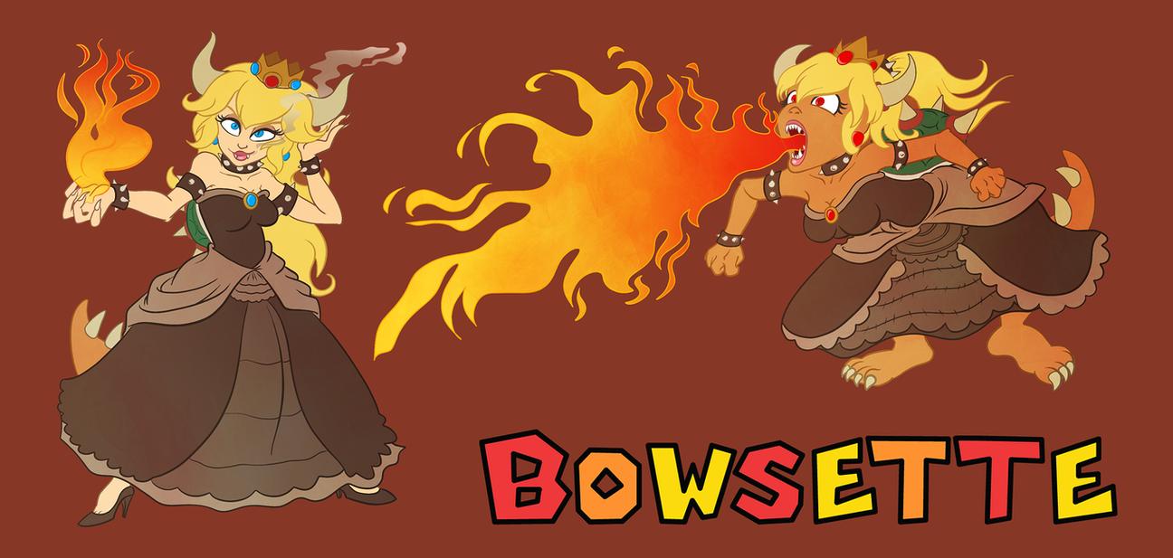 Bowsette by Tabascofanatikerin