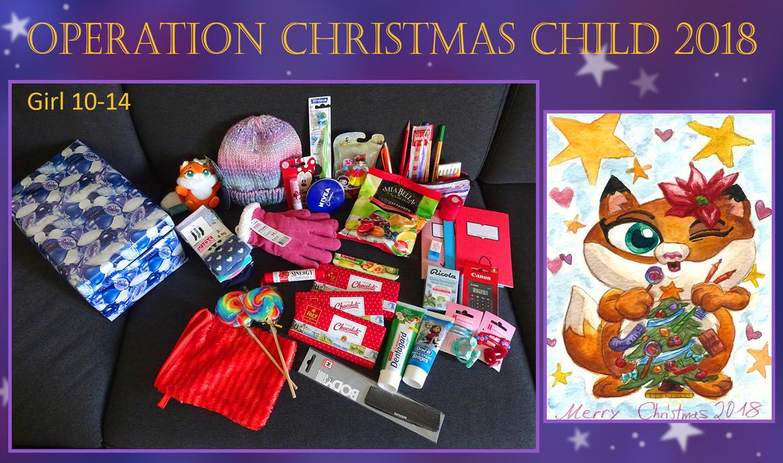 Operation Christmas Child 2018 by Tabascofanatikerin