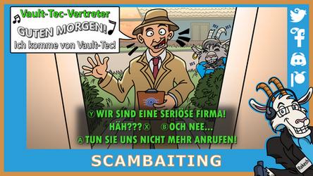 Telefonziege 'Scambaiting' (feat. Fallout 4) by Tabascofanatikerin