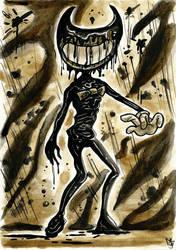 BATIM - Ink Demon Bendy by Tabascofanatikerin