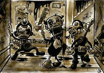 BATIM - The Butcher Gang by Tabascofanatikerin