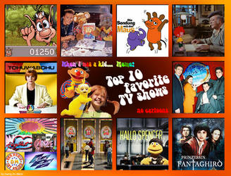 Top 10 favorite TV Shows during my Childhood by Tabascofanatikerin