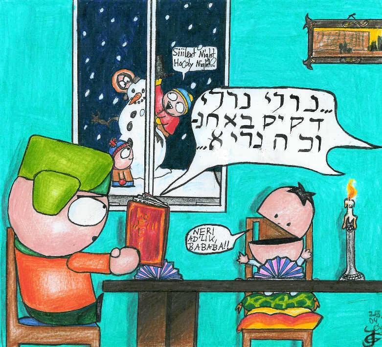 The lonely jew on christmas by Tabascofanatikerin on DeviantArt