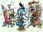 Bluegrass Band's Birthday Performance by Tabascofanatikerin