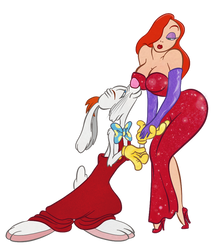 Jessica Rabbit - I have missed you, Roger by Tabascofanatikerin