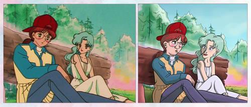 Screencap Redraws: Sailor Moon 06 by Tabascofanatikerin