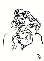 Blind Portrait - Margot by Tabascofanatikerin