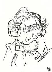 Blind Portrait - Grandmother by Tabascofanatikerin