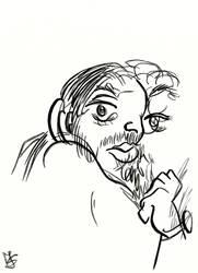 Blind Portrait - Johann by Tabascofanatikerin