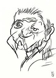 Blind Portrait - Konrad by Tabascofanatikerin