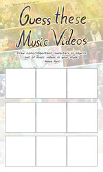 Guess these Music Videos Meme Template by Tabascofanatikerin