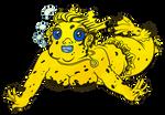 Blackspotted Puffer Mermaid by Tabascofanatikerin