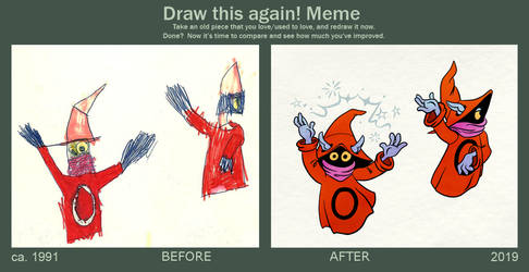 Draw it again: Orko, the Trollan Magician by Tabascofanatikerin