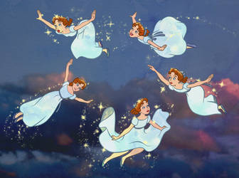Wendy Darling - Oh, my! We can fly! by Tabascofanatikerin