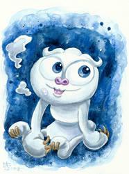 Snow Sloth Calacho (OC)