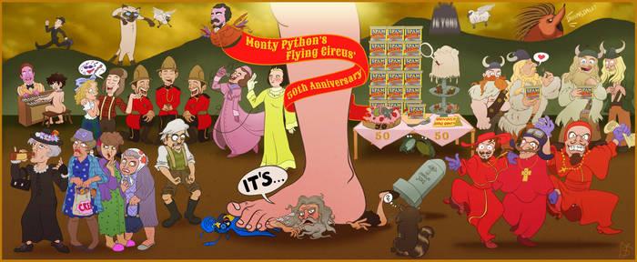 It's...Monty Python's 50th Anniversary!