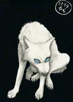 6. Husky (Inktober 2019)