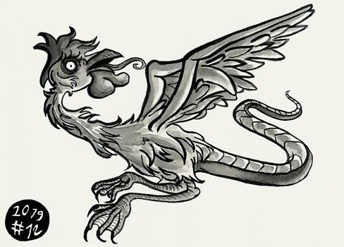 12. Dragon (Inktober 2019)