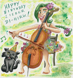 Junipers Cello Solo for Themrock (Birthday 2020)