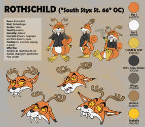 Character Sheet 'Rothschild' (South Styx St. 66)
