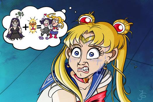 Screencap Redraws: Sailor Moon 09 (with context)