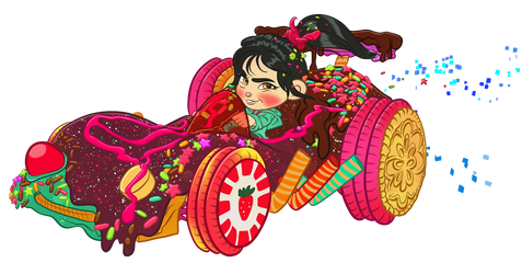 Vanellope -  Everyone loves an adorable Winner!