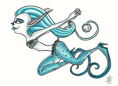 Random elfish Creature (Doodle Redraw)