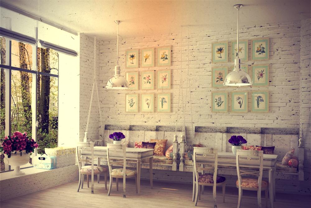 Cafe Shabby chic Design By Oleksandra91 On DeviantArt