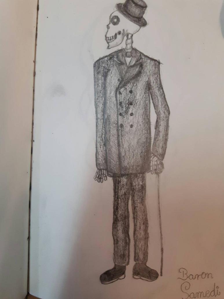 Baron Samedi by kolinezja