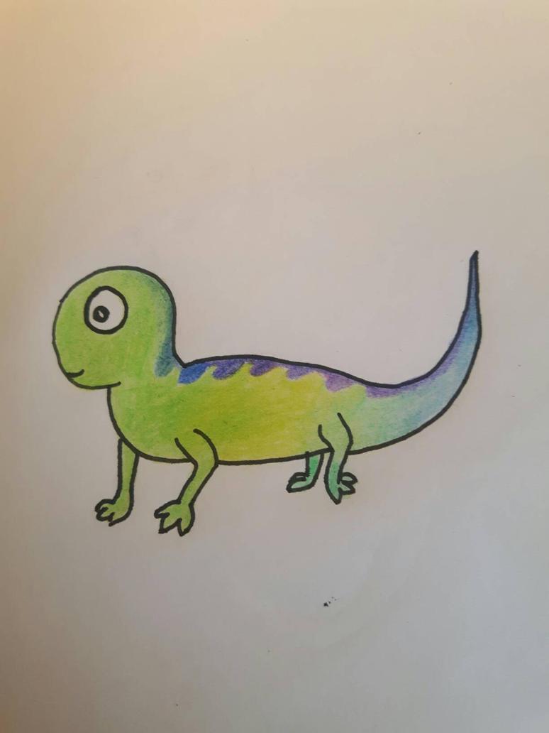 lizard by kolinezja
