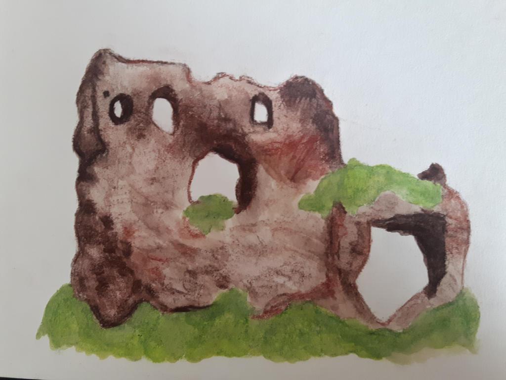 Castle in Bochotnica by kolinezja