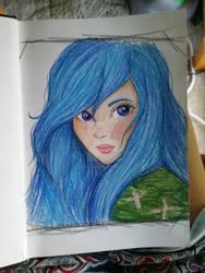 Blue jay by shewolfskye