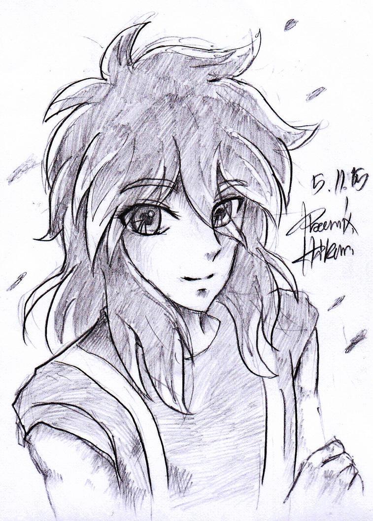 Drawing Shun by HikariAndDarkNEKO