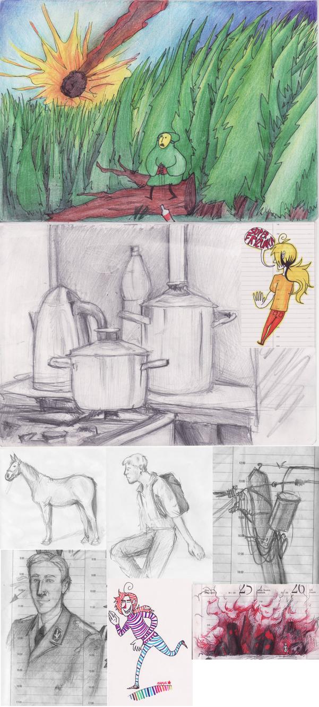 sketchdump by Pyzaland