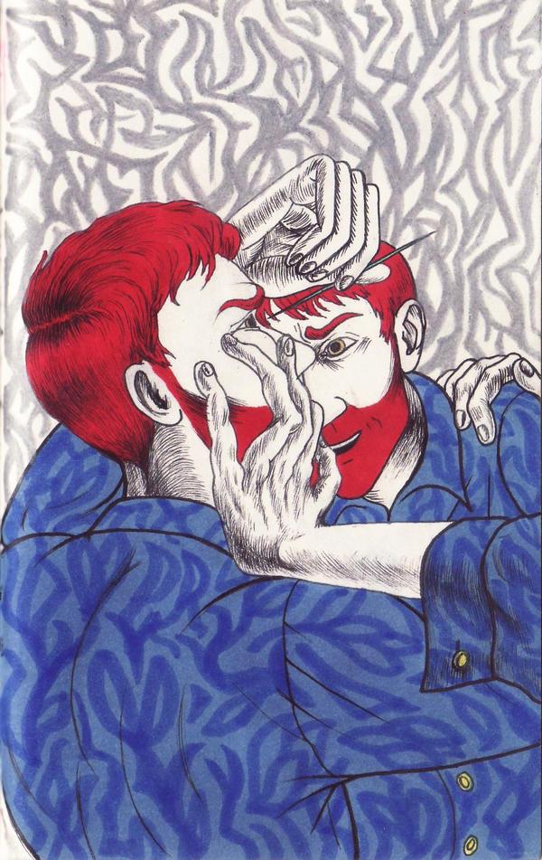 suicidal by Pyzaland