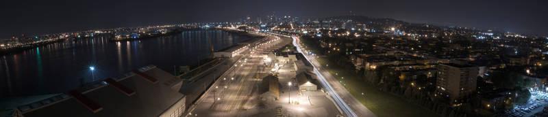 Panorama de la metropole